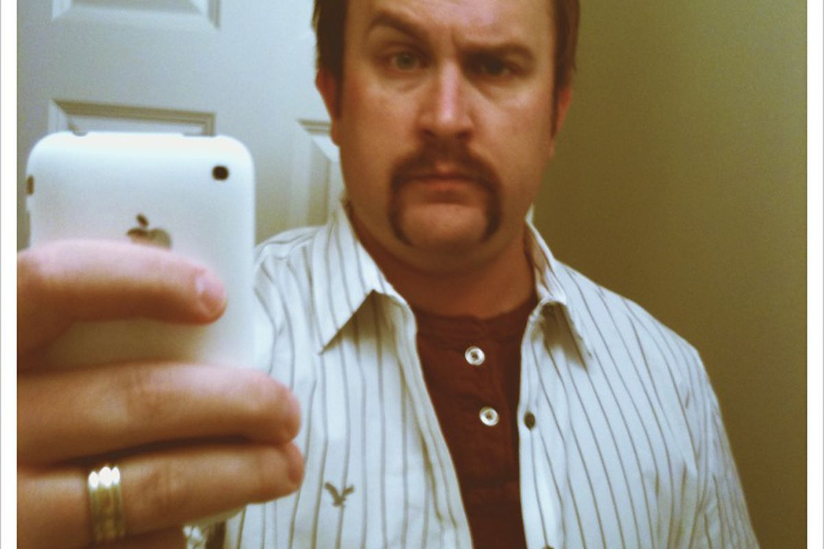 Behold the glory that is my Movember 2010 final product.