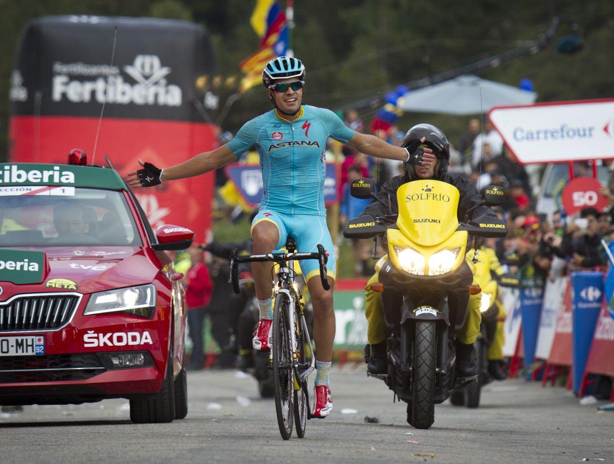 Landa wins Andorra stage