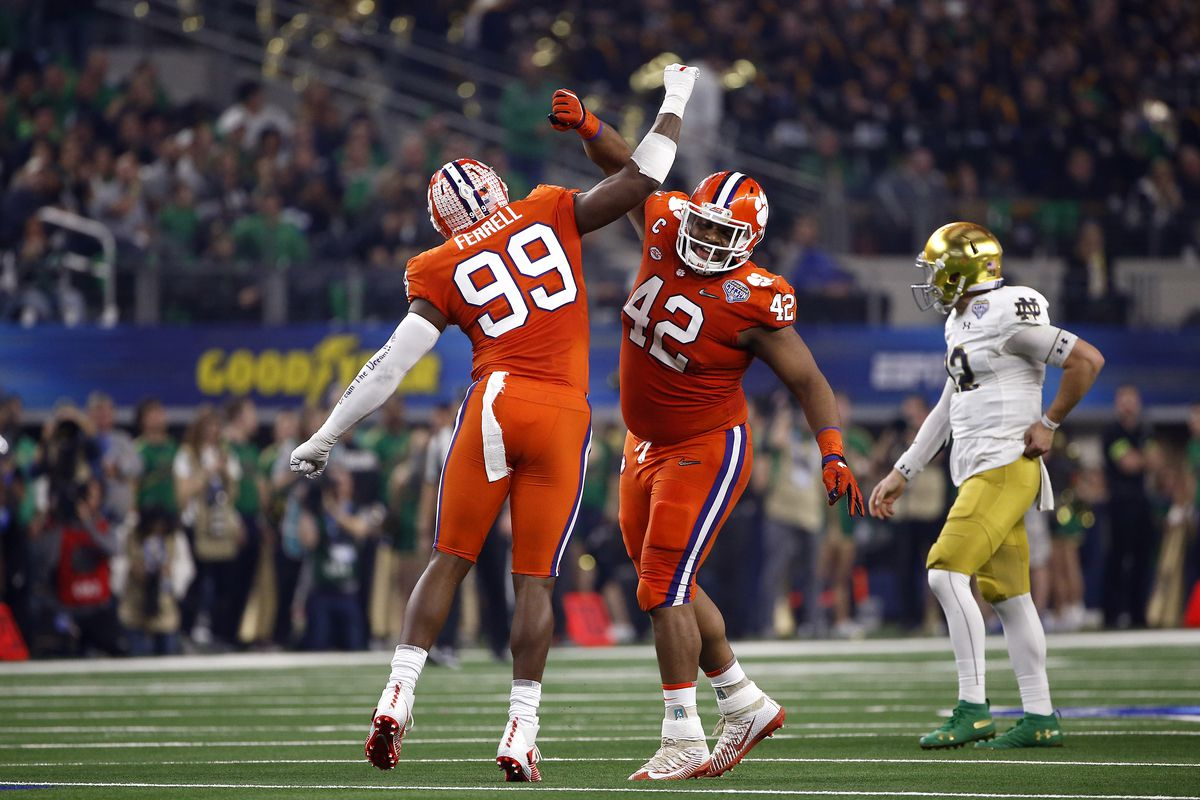 College Football Playoff Semifinal at the Goodyear Cotton Bowl Classic - Clemson v Notre Dame