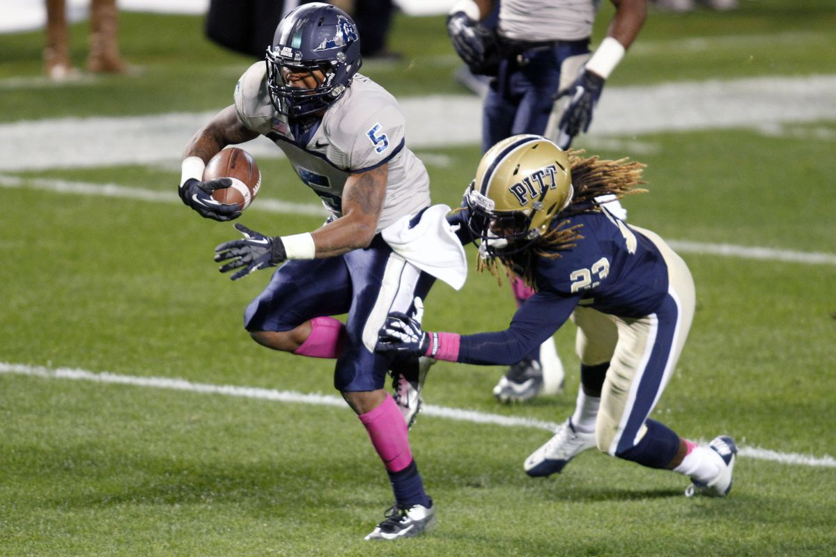 With the dismissal of Larry Pinkard last month, Antonio Vaughan is Old Dominion's leading returnee at wide receiver.
