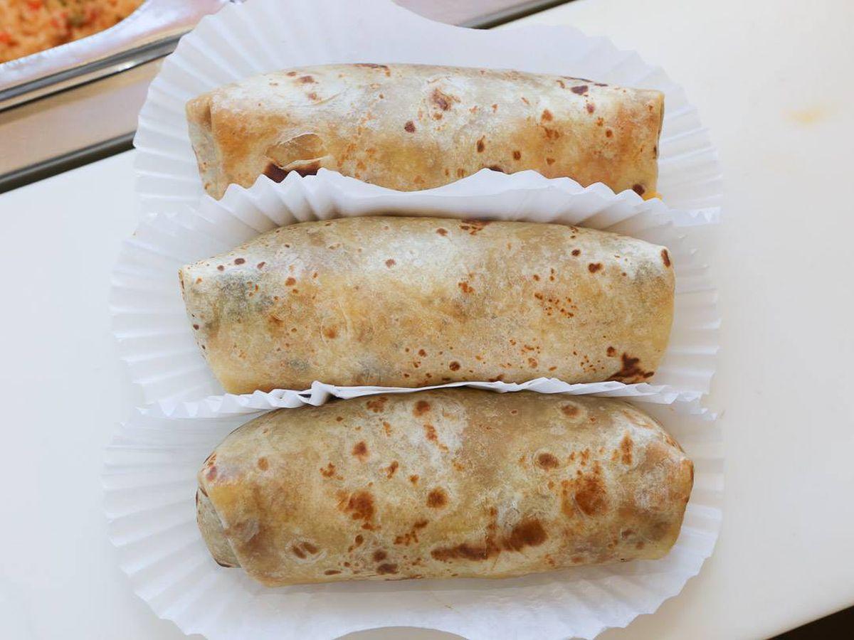 Bean Burritos at Tito's Tacos