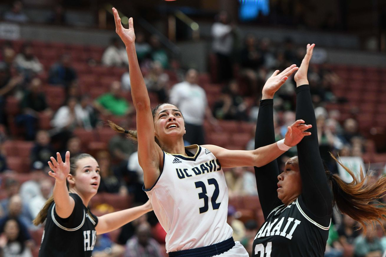 NCAA Womens Basketball: Big West Conference Championship-Final-UC Davis vs Hawaii