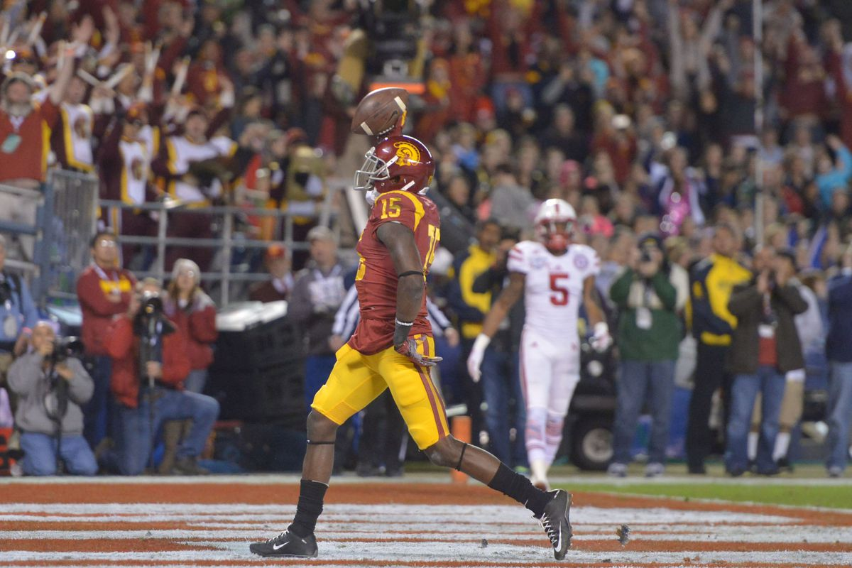 313f24478c5 2015 NFL Draft Profile: Wide Receiver Nelson Agholor - Conquest ...