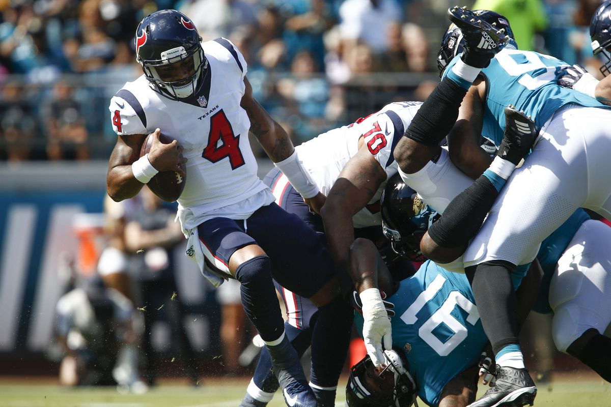 Monday Morning Pleighbook  Deshaun Watson wasn t healthy enough to fly but  WAS healthy enough to beat the Jaguars d5b23dbe9