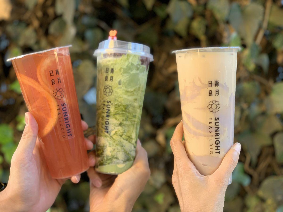 Sunright Tea Studio teas.