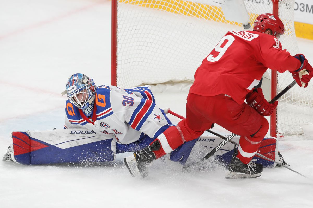 Kontinental Hockey League: Spartak Moscow vs SKA St Petersburg