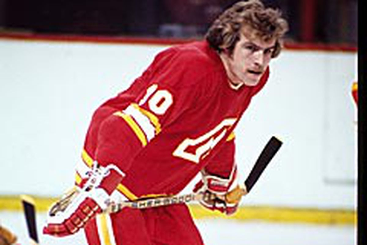 Bill Clement played a combined 444 games between the Atlanta and Calgary versions of the Flames, scoring 85 goals with 139 assists.
