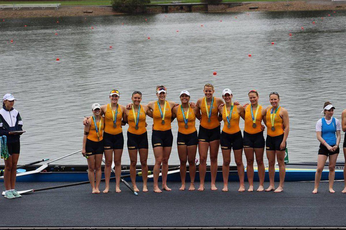 Cal Women's Crew is pretty familiar with the winner's podium.
