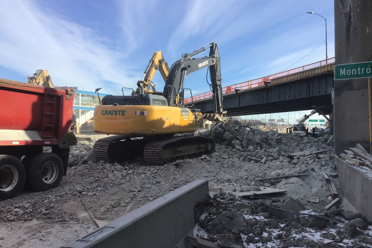 The Montrose Avenue bridge will undergo construction on March 26.
