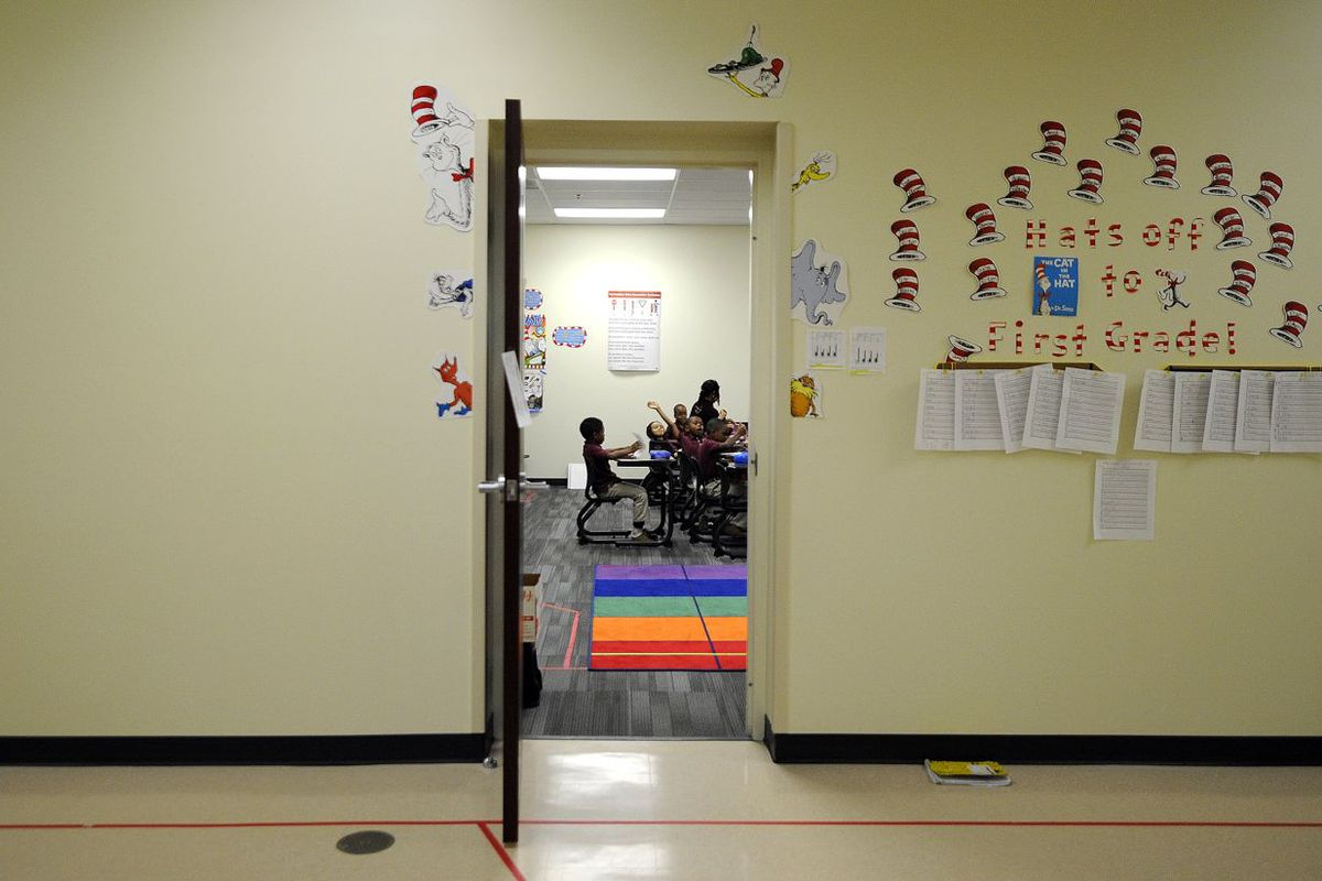 About one-third of charter schools in the state saw deep Title I funding cuts this year.