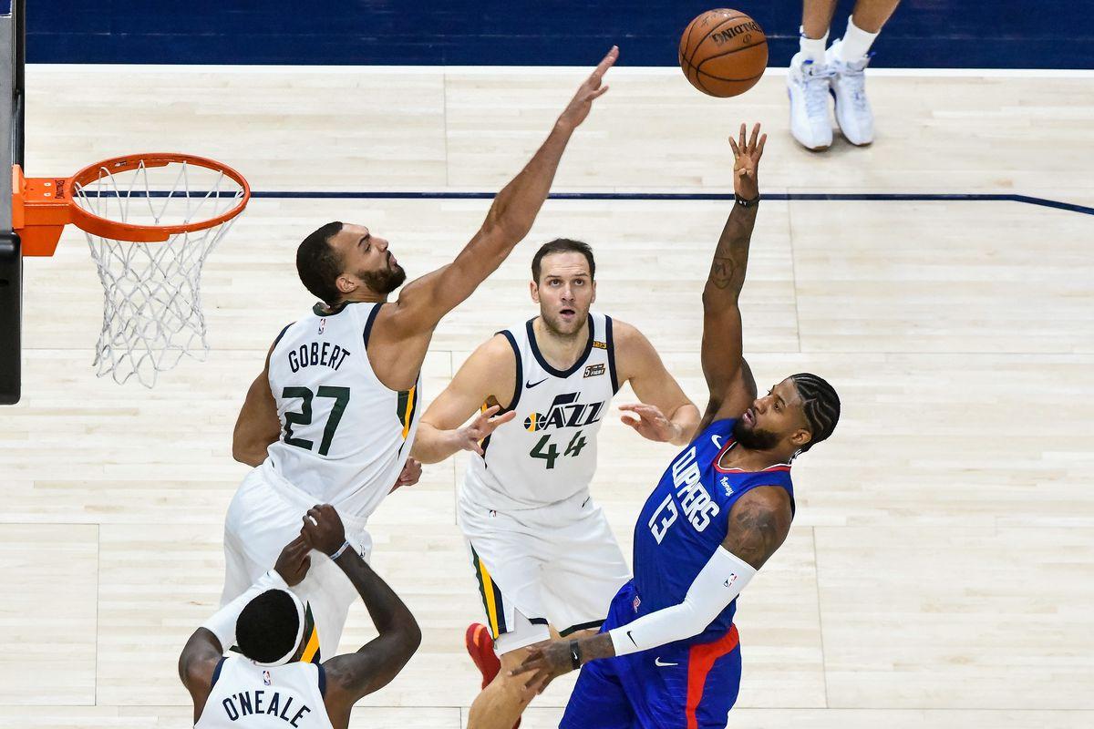 Los Angeles Clippers v Utah Jazz
