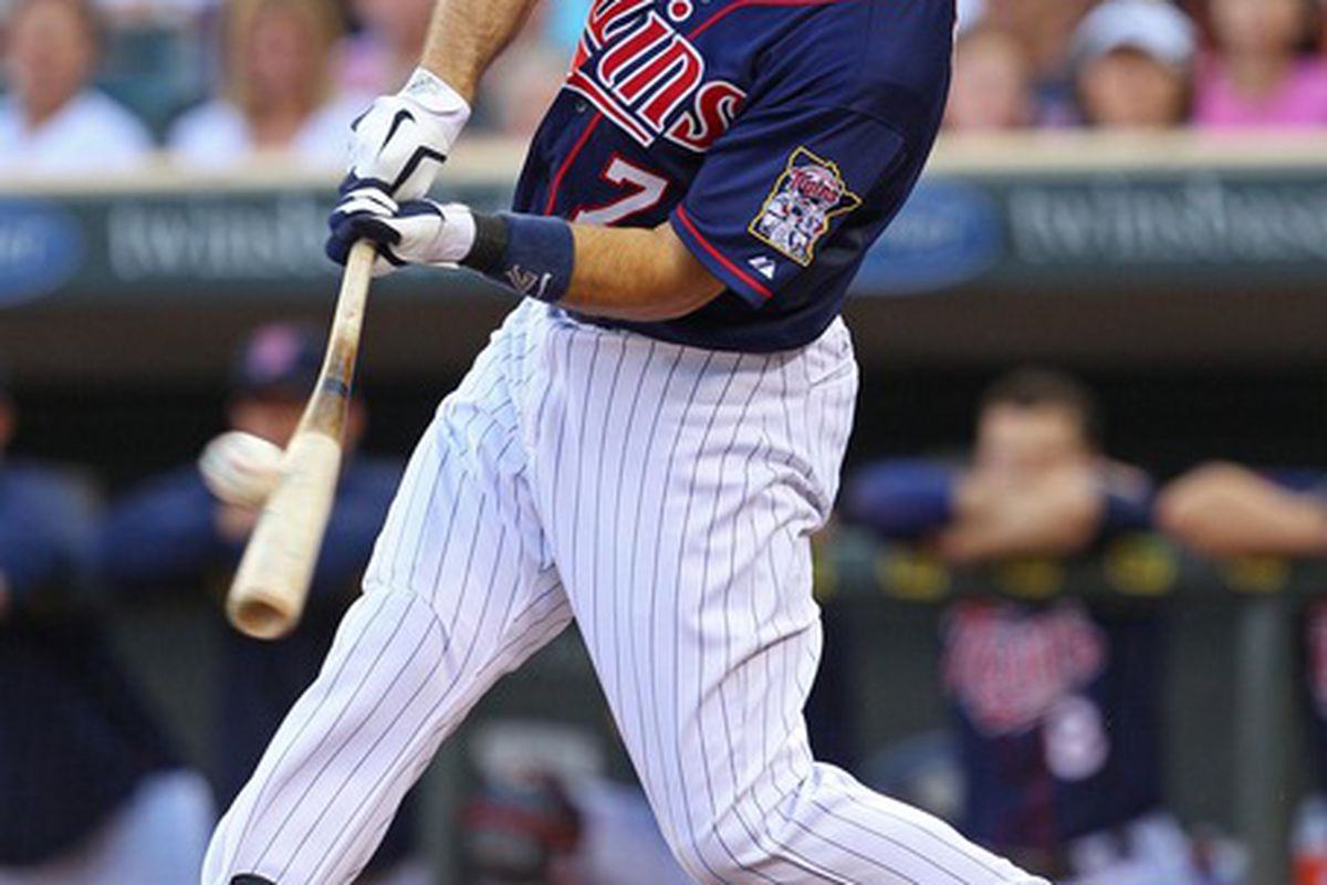 Joe Mauer has very quietly put together another great season. .323 batting average and a .419 OBP.