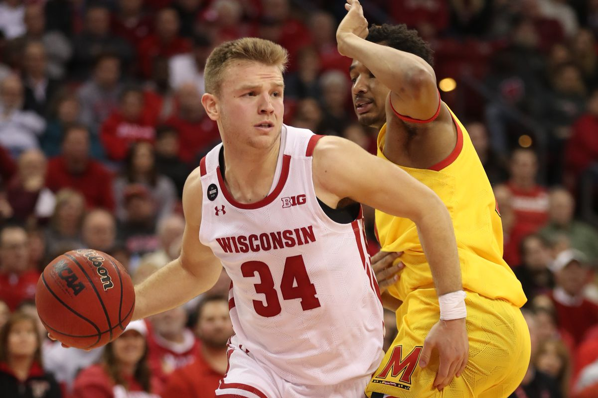 Game Notes Wisconsin Badgers Basketball 56 No 17 Maryland