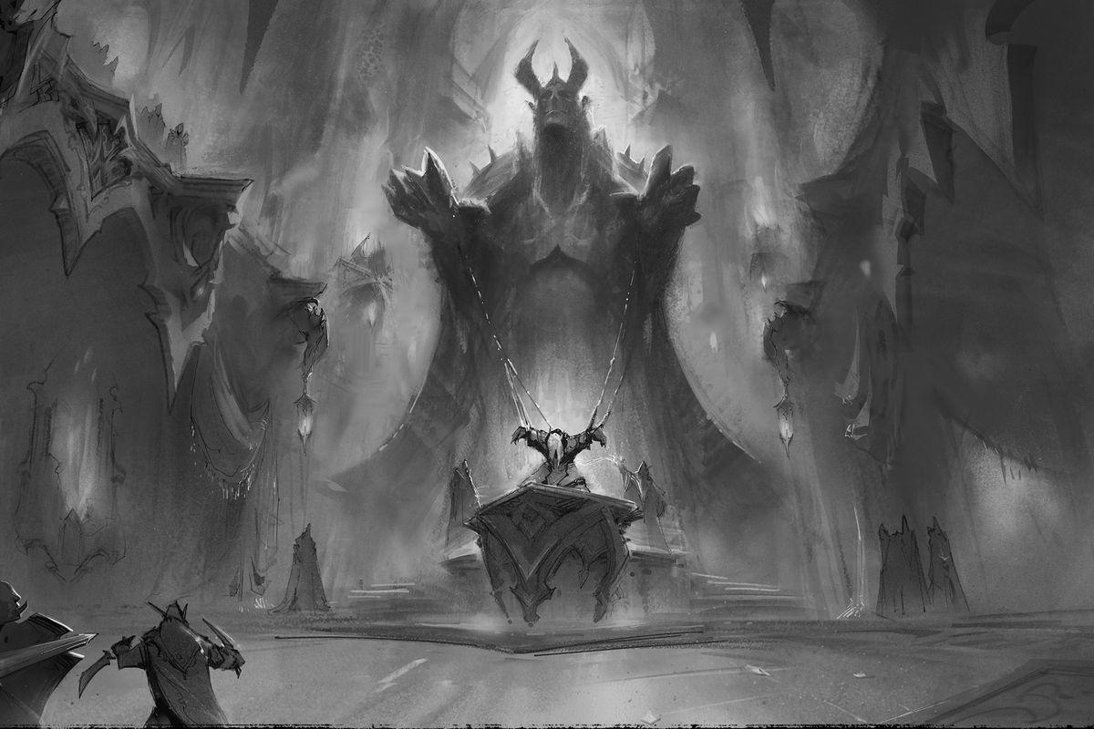 World of Warcraft: Shadowlands - Revendreth concept art