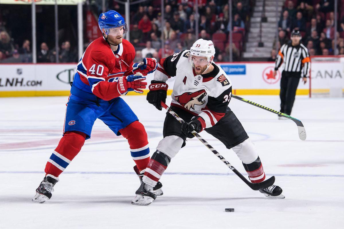 NHL: JAN 23 Coyotes at Canadiens