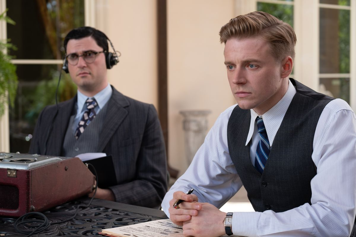 Trank in a cameo and Jack Lowden as Crawford