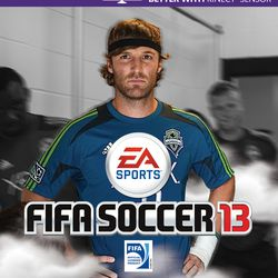 FIFA13 cover: Jeff Parke