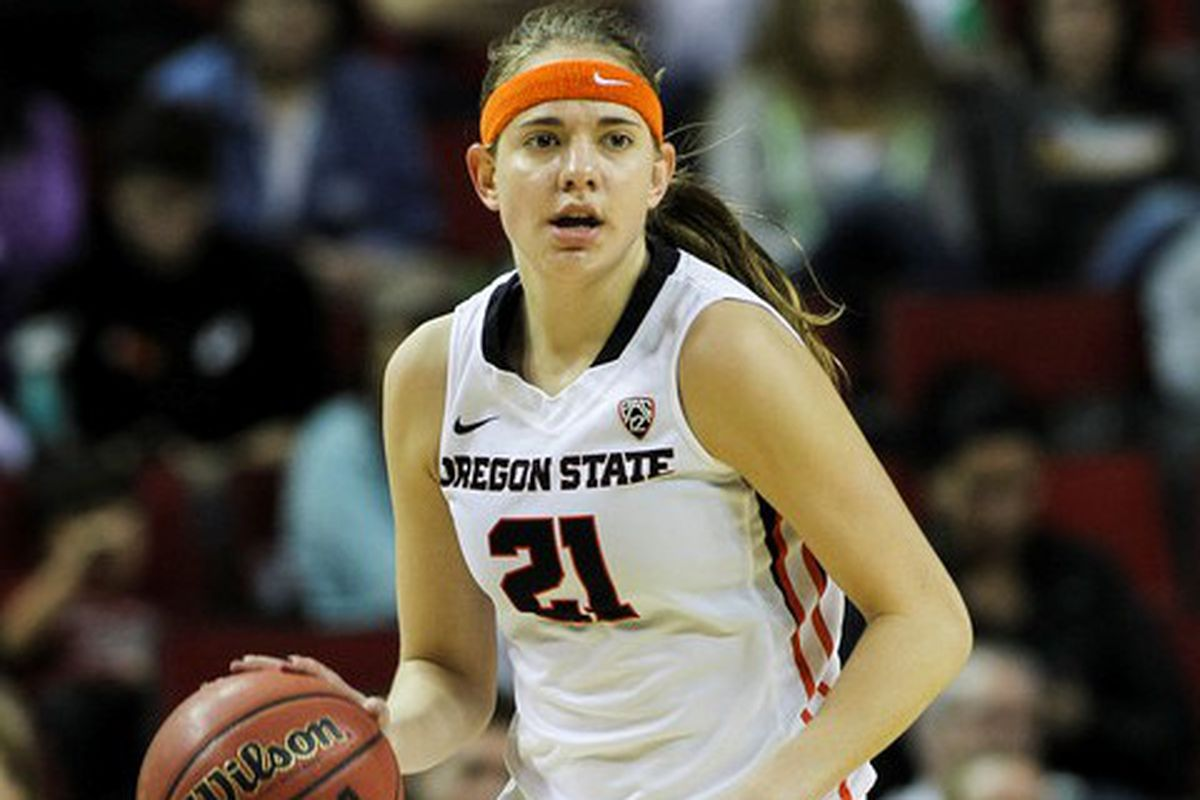 Sydney Wiese had 20 points, including 4 3 pointers, to lead Oregon St. past Washington St. and into the Pac-12 Title game.