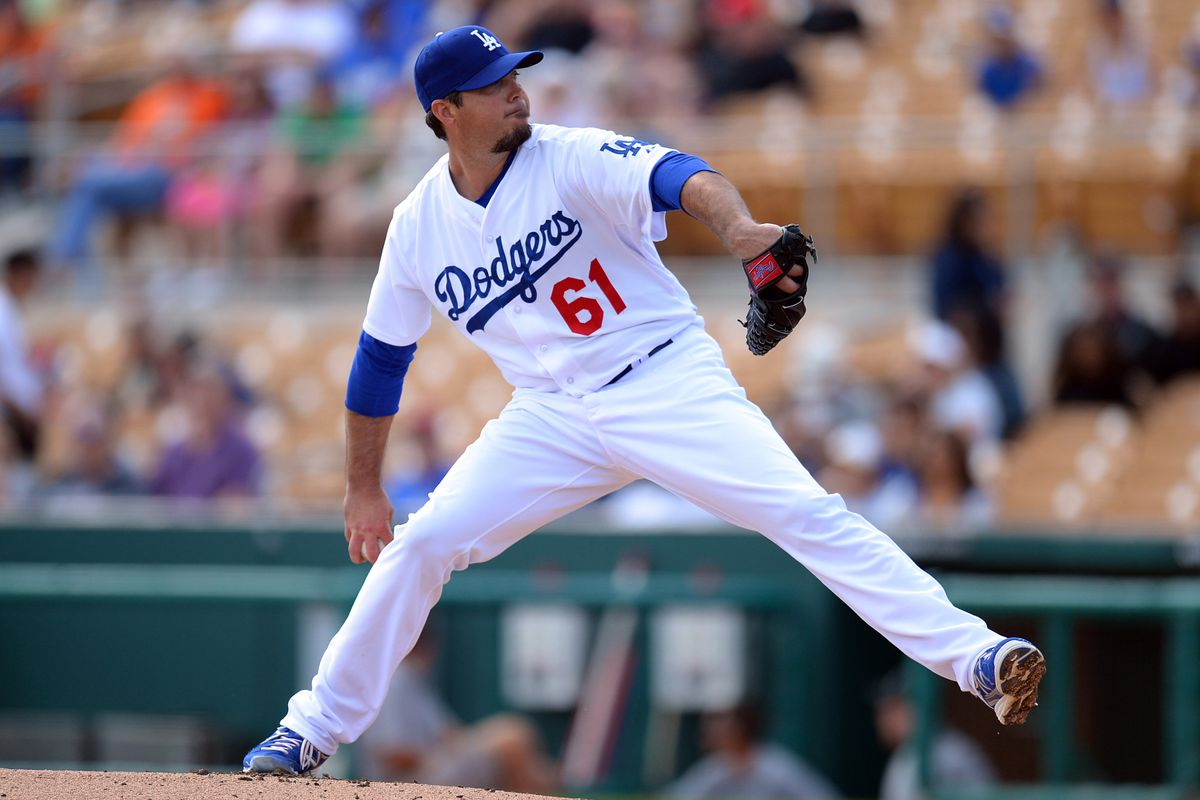 Josh Beckett from his last outing. More of the same, apparently.