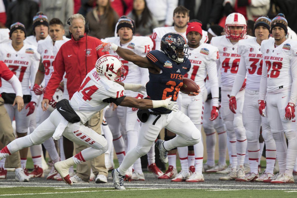 NCAA Football: New Mexico Bowl-New Mexico at Texas-San Antonio