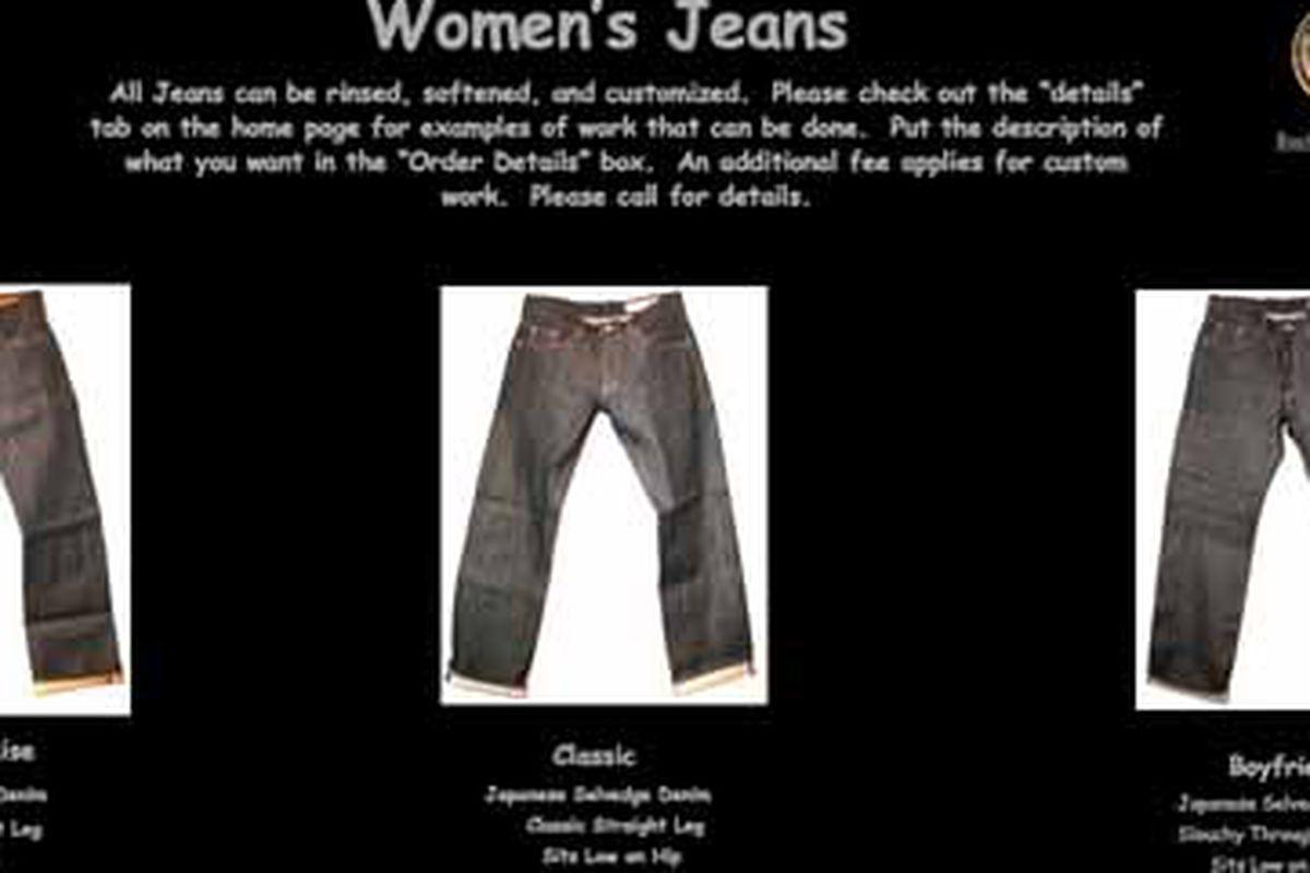 "Image via <a href=""http://www.worldjeanshop.com/"">Jean Shop</a>"