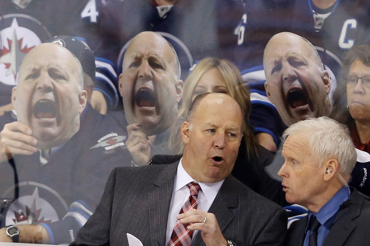 Claude Julien(s?) and Doug Jarvis remain with the team. Oh, you, Jets fans!