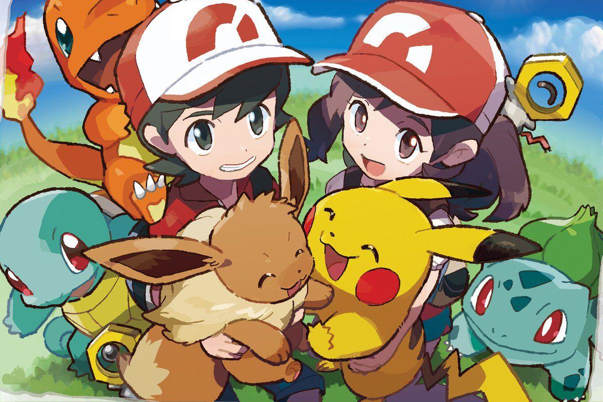 Pokémon: Let's Go! gives you the whole starter trio