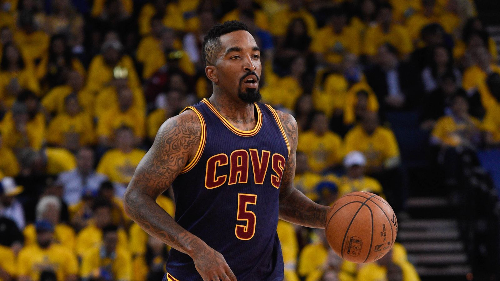 What's going on with J.R. Smith?