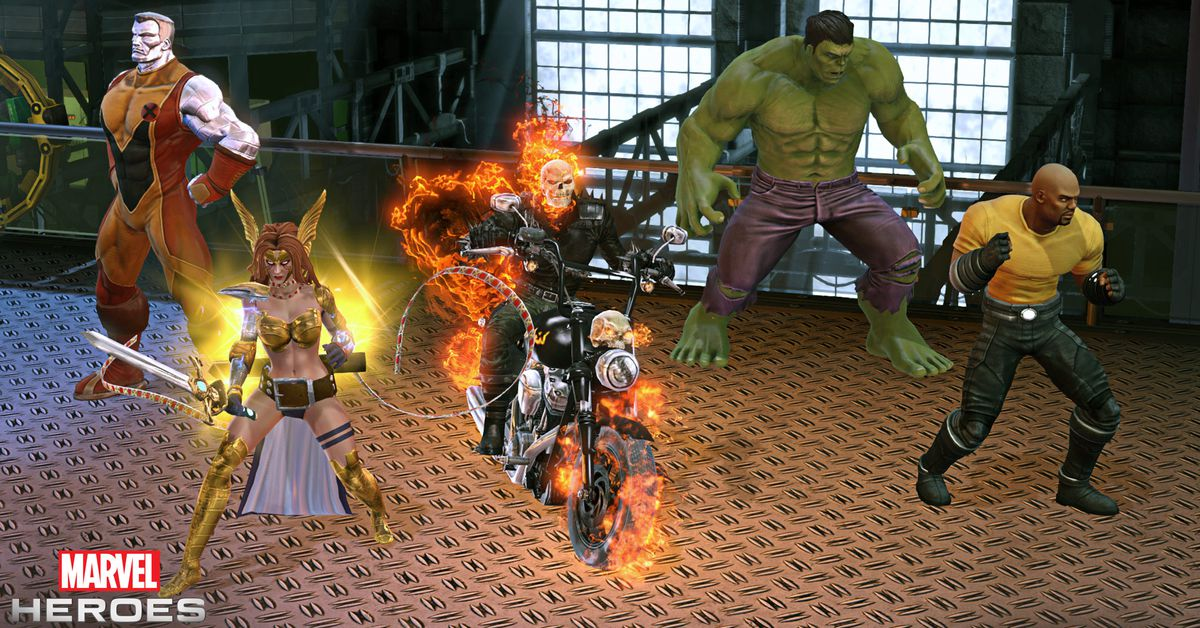 Gazillion cans Marvel Heroes team