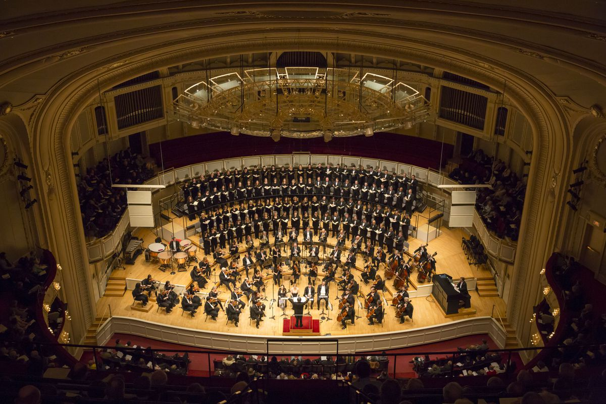 The Chicago Symphony Orchestra , with Riccardo Muti, Conductor. | © Todd Rosenberg Photography 2014