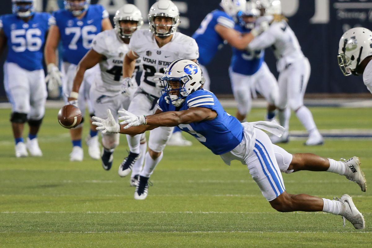 NCAA Football: Brigham Young at Utah State