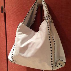 Dior white purse // $850