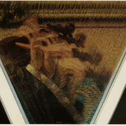 'The Hand of the Violinist (The Rhythms of the Bow)' by Giacomo Balla (1912)