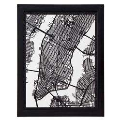 """<span class=""""credit""""><b>Cut Maps</b> laser cut street maps at <b>Uncommon Goods</b>, <a href=""""http://www.uncommongoods.com/product/cut-maps"""">$150</a></span><p>"""