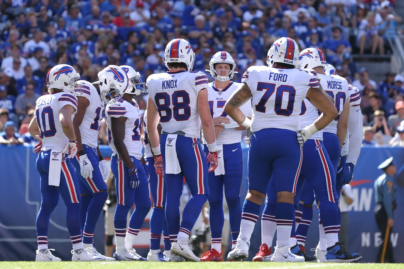 NFL: Buffalo Bills at New York Giants