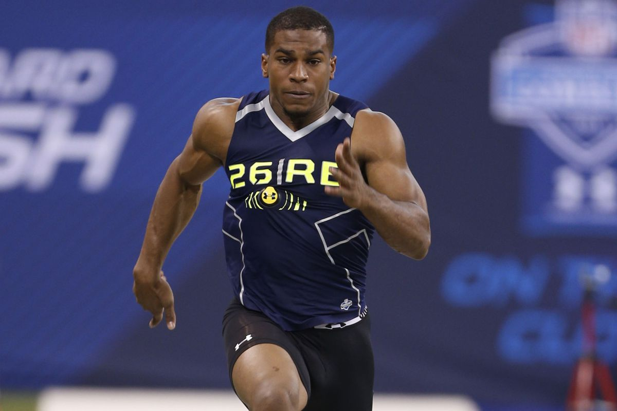 After a strong performance at the NFL Combine, Bishop Sankey has likely leapt to the top of more than a few draft boards.