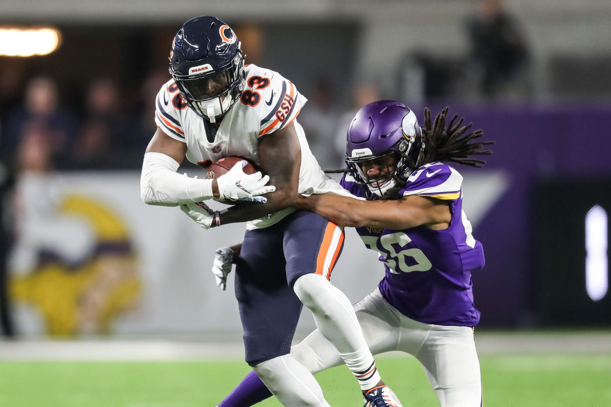 new product 57e4d d8994 Chicago Bears 2019 Position Battles: The receiving corps is ...