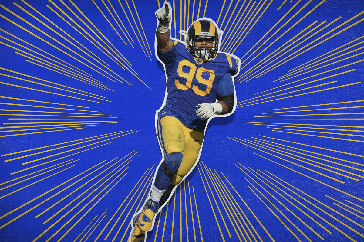 new concept 2bfee 084be Aaron Donald Won't Win MVP — but He Could Rewrite the NFL ...
