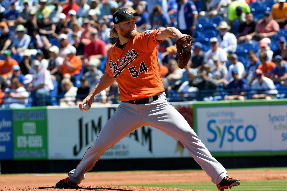 MLB: Spring Training-Baltimore Orioles at New York Mets