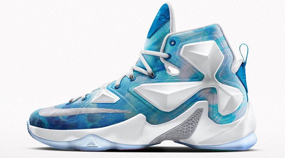 Cavs Kicks  Nike iD LeBron 13  Lake Erie  - Fear The Sword ed62f1fc0