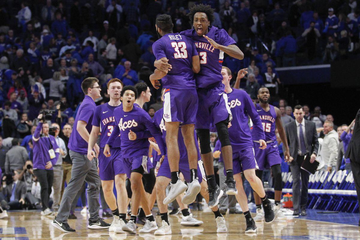 NCAA Basketball: Evansville at Kentucky
