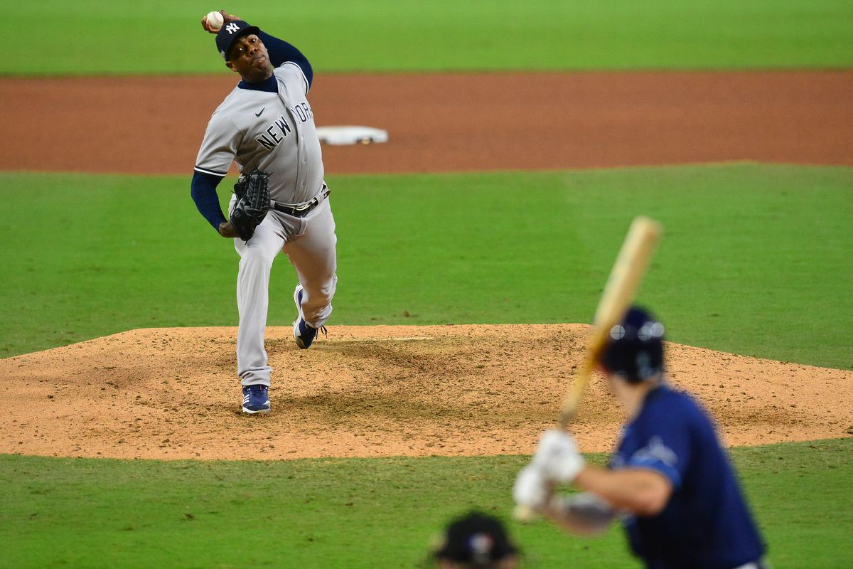 MLB: ALDS-New York Yankees at Tampa Bay Rays