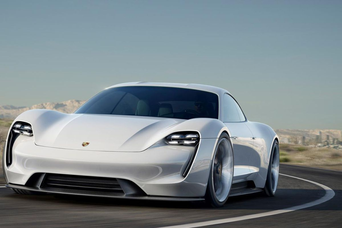 Porsche S All Electric Tesla Rival Could Cost Less Than 100 000 The Verge