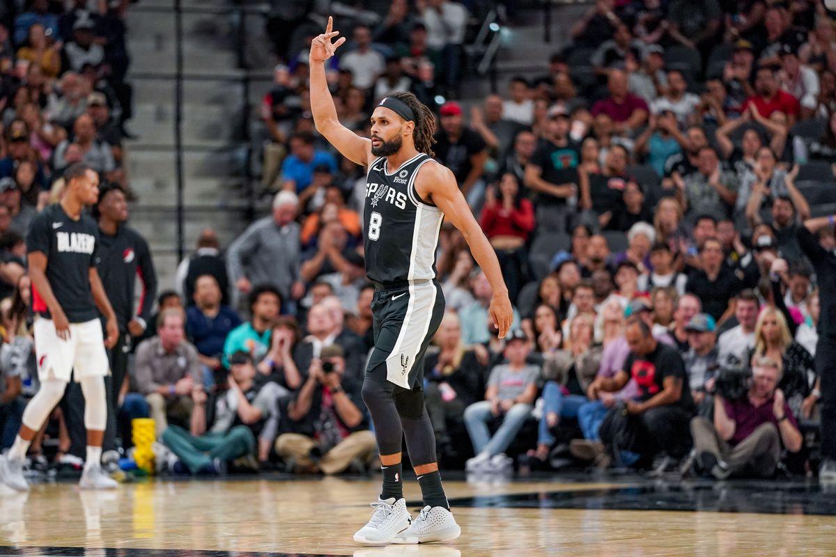 NBA: Portland Trail Blazers at San Antonio Spurs