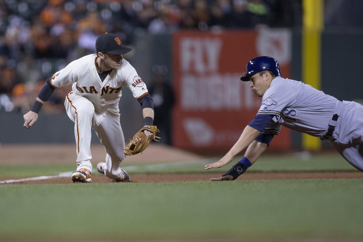 The Rays acquired infielder Matt Duffy from the Giants as well as two prospects in the Matt Moore trade