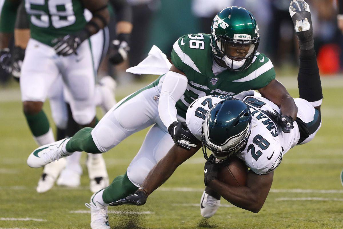 NFL: Preseason-Philadelphia Eagles at New York Jets