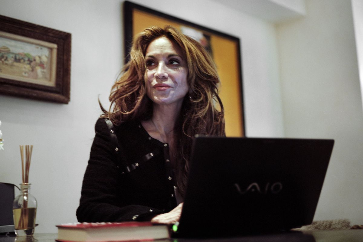 A 2010 photo of Pamela Geller, who organized Sunday's event in Garland, Texas.