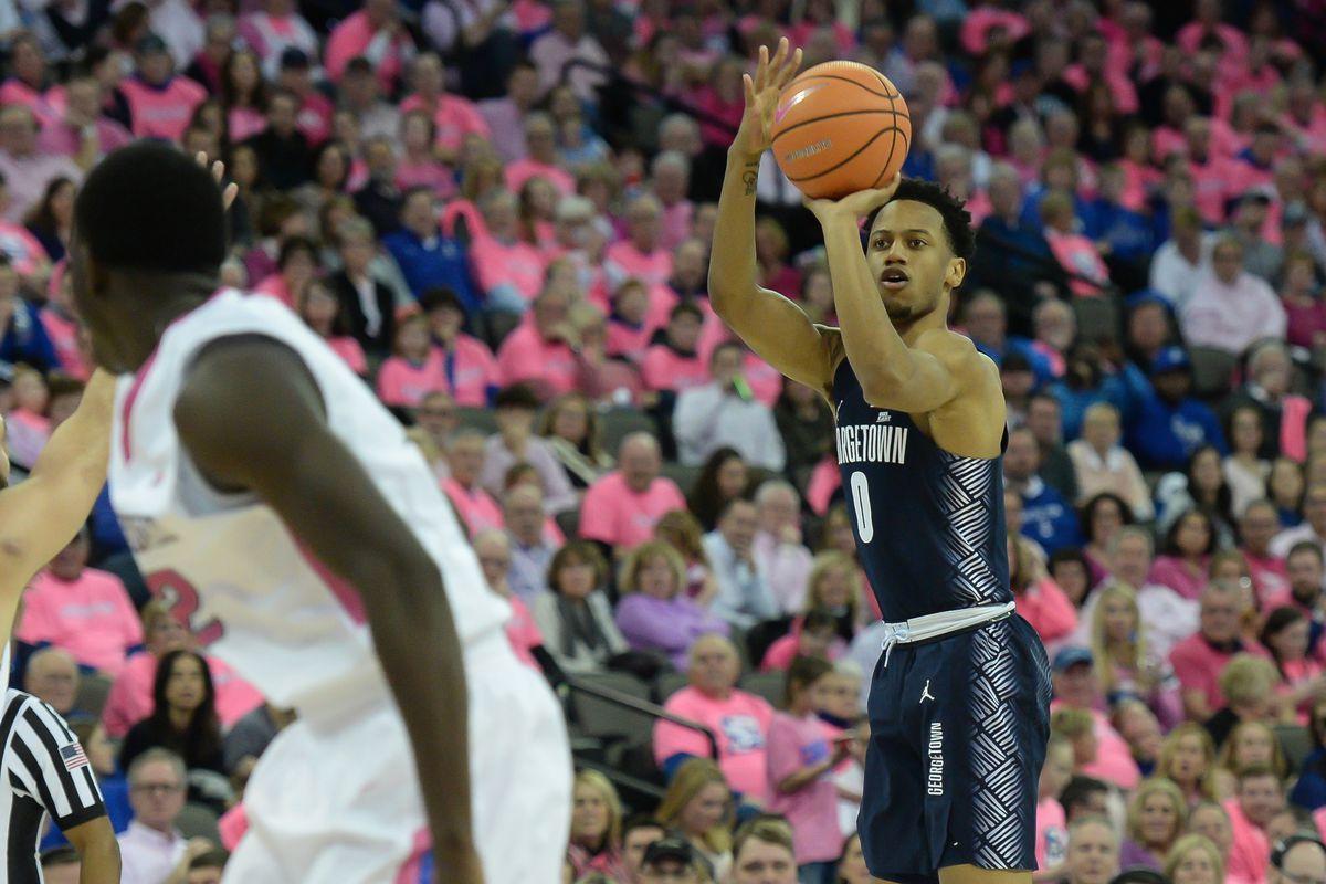 NCAA Basketball: Georgetown at Creighton