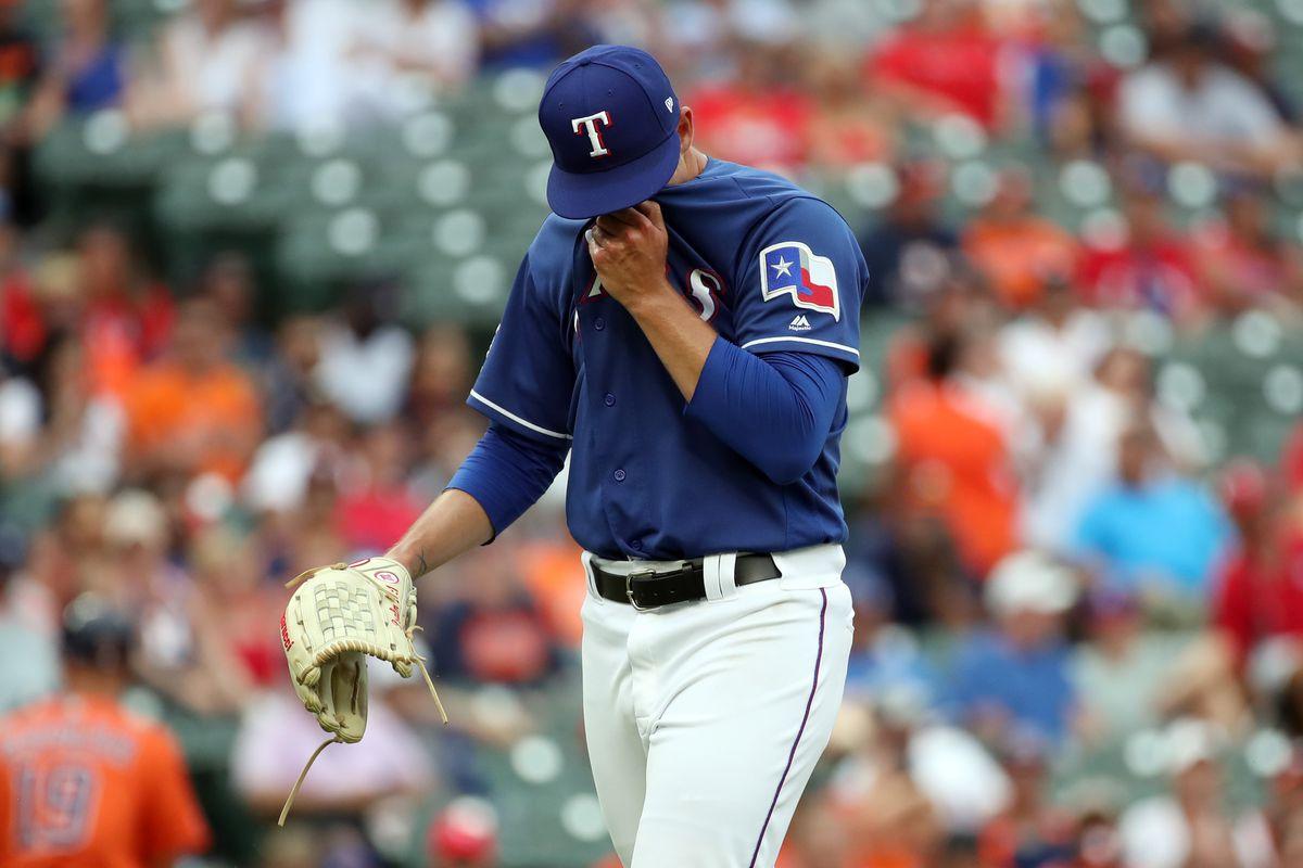 MLB: Houston Astros in Texas Rangers