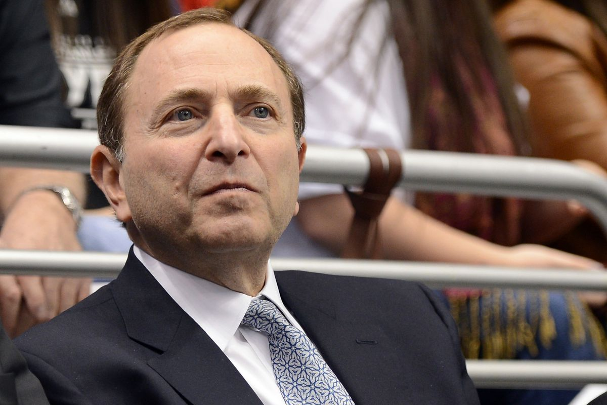Harry How. National Hockey League commissioner Gary Bettman ... bc67d5550